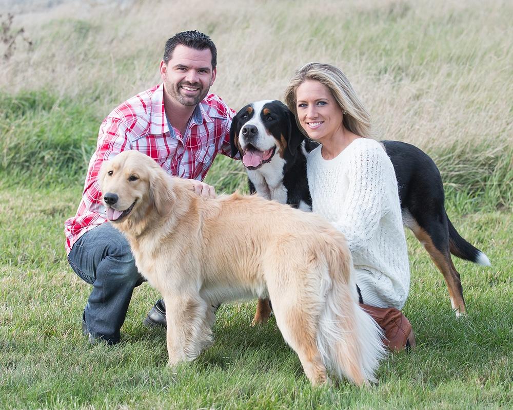 Eric Bleile family